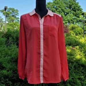 American Eagle Outfitter, Color Block Blouse